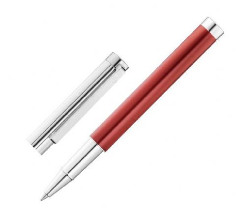 Waldmann Cosmo Rollerball Pen with Metallic Red Finish